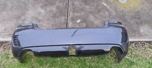 SUBARU LIBERTY 4GEN REAR BUMPER FACELIFT WITH SENSORS - 65Z DIAMOND GREY