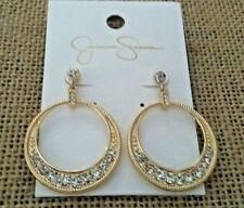 - gold tone Jessica Simpson Earrings