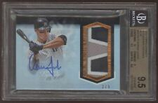 2018 Topps Dynasty Aaron Judge Patch Auto Autograph /5 BGS 9.5 10 Gem Mint