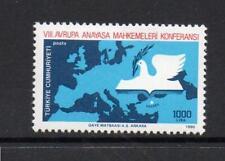 TURKEY MNH 1990 SG3081 EUROPEAN SUPREME COURTS CONF