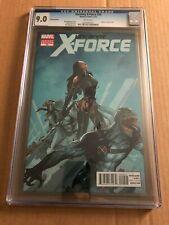 Uncanny X-Force #20 (2012) - CGC 9.0 - VENOM VARIANT 1:50 COVER - RARE HTF