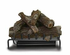 "30"" Elite Triple NG Burner w/ Aged Oak Log Set & Safety Pilot"