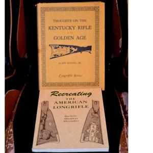 2 Longrifle Books - Shumway & Kindig
