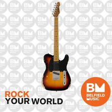 ESP LTD TE-254 Electric Guitar Distressed 3-Tone Burst - LTE-254D3TB - Brand New