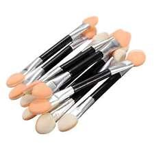 10 x Cosmetic Double-Ended Women Makeup Eyeshadow Eyeliner Sponge Lip Brush Set