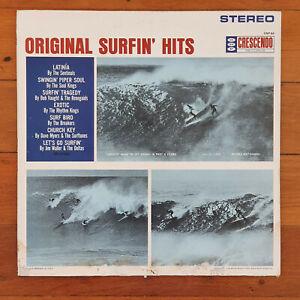 SURFING SURF VINYL LP ORIGINAL SURFIN' HITS VARIOUS ARTISTS 1963 MONO