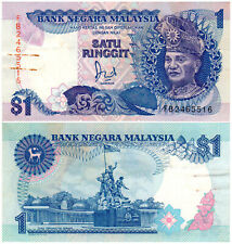 Malaysia $1 P#27a (1986) Bank Negara Malaysia VF