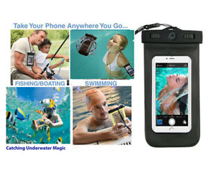 Universal Waterproof Underwater Phone Case Armband Bag Pouch for all Smartphones