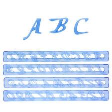 ++ Fmm Alphabet und Nummern Set, Kursiv ++