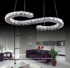 Modern LED Crystal Chandelier Ceiling Lamp Lighting Kitchen Island Pendant Light