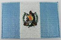 Guatemala Aufnäher gestickt,Flagge Fahne,Patch,Aufbügler,6,5cm,neu