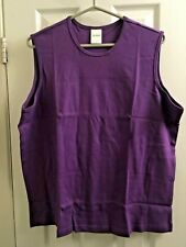 BLAIR WOMEN'S SLEEVELESS TOP (XL) Purple