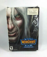 Warcraft War Craft III 3 The Frozen Throne Expansion Set Blizzard PC Rated T