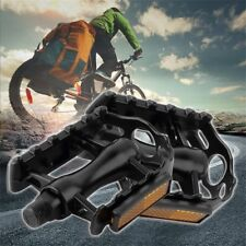 """1 Pair Aluminium Alloy Mountain Road Bike Bicycle Cycling 9/16"""" Pedals Flat Dx"""