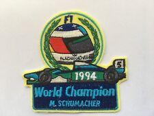 Toller Aufnäher Patch > Michael Schumacher < Rarität !