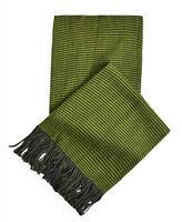 Mens M&S Scarf Ex Store New Stripe Winter Tassel Acrylic Striped Scarves O/S