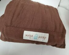 Maya Wrap Ring Sling Baby Carrier Lightly Padded LARGE
