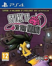 Stick It To The Man For PAL PS4 (New & Sealed)