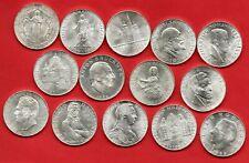 More details for 14 austrian 25 schilling silver coins 1955 - 1969. austria, job lot.