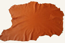 SOFT ORANGE NAPPA LEATHER SKIN - #2874