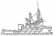 Bauplan Bison Modellbauplan Schlepper Schiffsmodell
