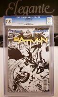 Batman New 52 #2 DC 1:200 B&W Sketch Variant CGC Snyder & Capullo Rare damned