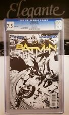 Batman New 52 #2 DC 1:200 B&W Sketch Variant CGC Snyder & Capullo Rare damned