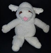 Lambchop Plush Hand Puppet Sheep Lamb White Stuffed Animal Toy Shari Lewis