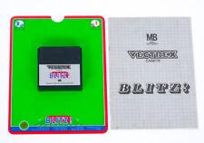 Blitz! With Overlay & Manual - Vectrex Milton Bradley MB