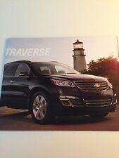 2013 Chevy Traverse 28-page Original Sales Brochure