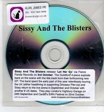 (CH911) Sissy & The Blisters, Let Her Go - DJ CD