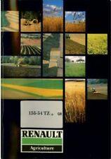 Renault Tractor 155-54 TZ - 16 Operators Manual