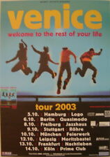 VENICE CONCERT TOUR POSTER 2003 WELCOME TO THE REST OF YOUR LIFE