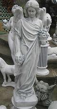 ENGEL Grabengel Grabfigur Grab Schutzengel Grabstein Skulptur 105 cm hoch massiv