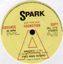 "TWO MAN SOUND ~ AMADEO / READY TO LOVE YOU ~ 1974 UK ""PROMO"" 7"" SINGLE [Ref.2]"