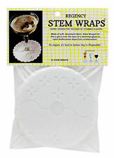 Stem Wraps Disposable White Lace Coaster Paper Slips On Stop Drips New