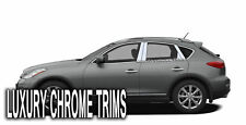 For Infiniti EX Stainless Steel Chrome Pillar Posts by Luxury Trims 2008-2013 8p