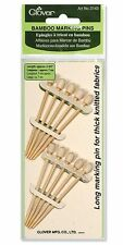 Clover Bamboo Marking Pins For Thick Chunky Knitted Fabrics - CL3143