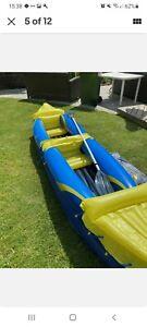 Crivit 2 Person Kayak/canoe Inflatable brand new