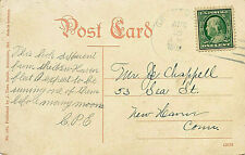GRATITUDE, MD. 4-BAR CANCEL. MARYLAND. DEAD POST OFFICE(DPO). OYSTER FLEET.