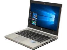 "HP 8470P 14.0"" Grade B Laptop Intel Core i5 3rd Gen 2.60 GHz 320 GB HDD 8 GB Mem"