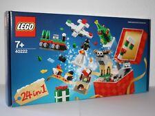 LEGO® CREATOR 40222 Weihnachtlicher Bauspass (24 in 1)  Neu & OVP