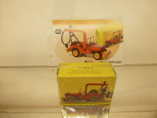 DINKY TOYS ATLAS 1412 JEEP RECOVERY TRUCK - RED  1:50 - UNUSED IN SEALED BOX