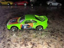 Hot Wheel 1990 HWTrans MR2 Die-cast Green Car *RARE*