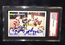MARK & MIKE BAVIS SIGNED 1993 CLASSIC DRAFT CARD #60 SGC AUTHENTICATED D 9/11/01