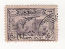 Aviation Australian KGV Head Stamps