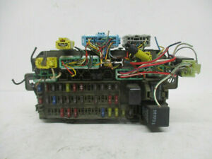 NY771-08 1996-2000 CIVIC CR-V DEL SOL MULTIFUNCTION CONTROL FUSE DASH BOX
