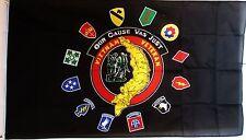 VIETNAM VETERANS flag 5X3 feet USA American military WAR FLAGS