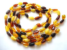 genuine Baltic amber necklace  47.25 inch