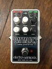 Electro Harmonix Nano Bass Battalion. Pre/Drive Distortion Pedal. EHX. for sale